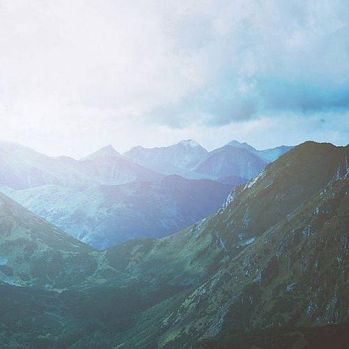 Bergen-blauw-groen
